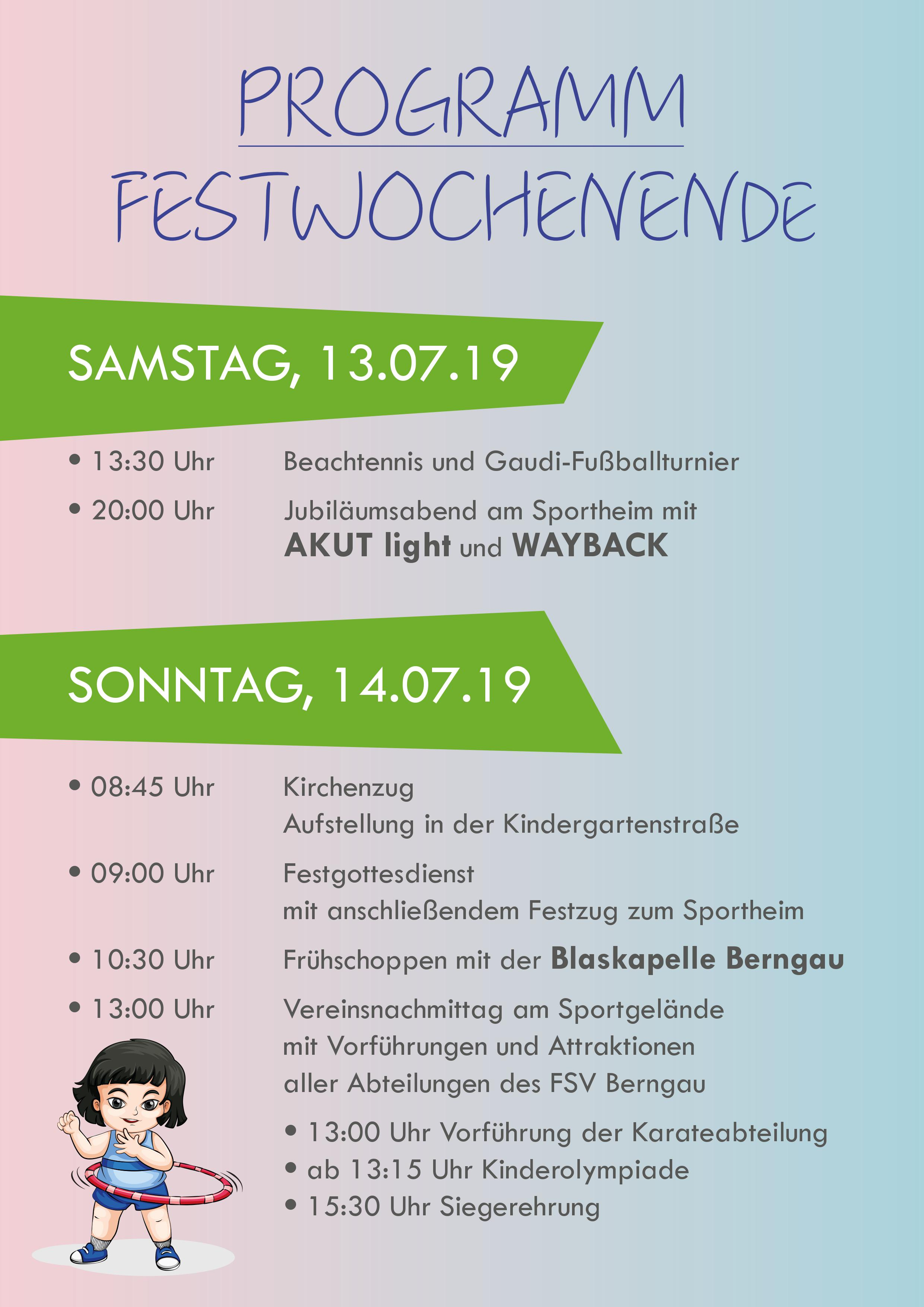 70 Jahre FSV Berngau