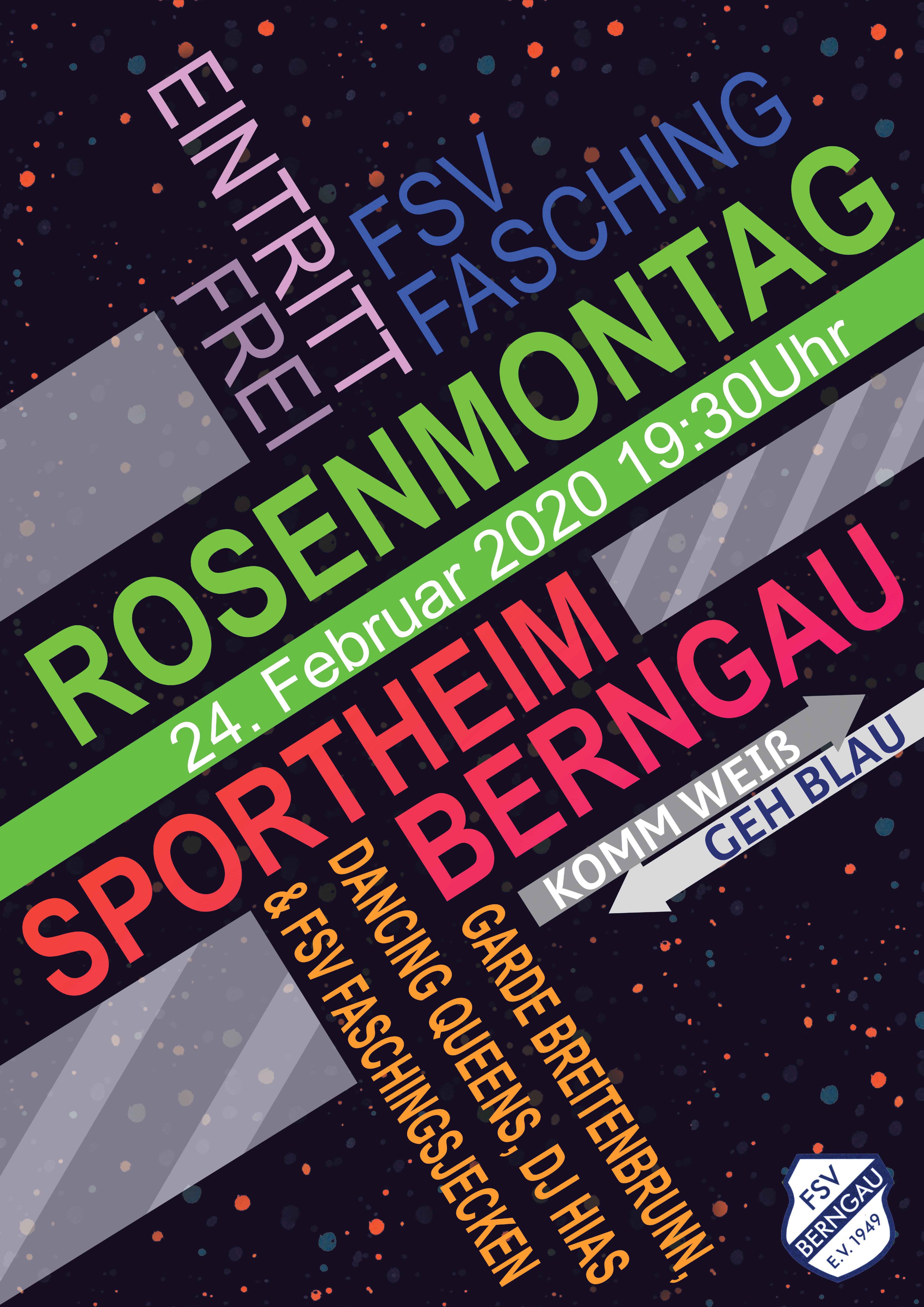 Rosenmontagsfasching FSV Berngau